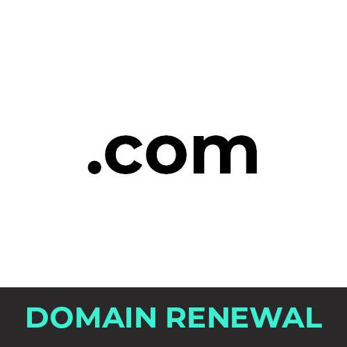 .com Domain Renewal