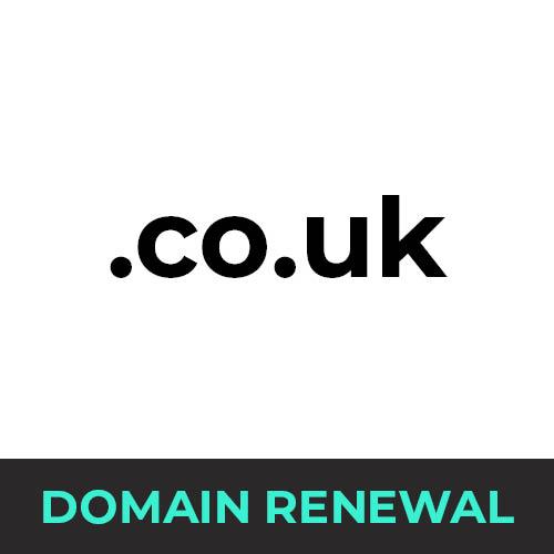 .co.uk Domain Renewal