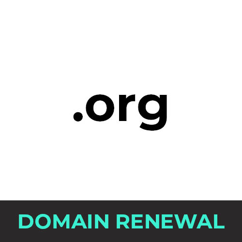 .org Domain Renewal