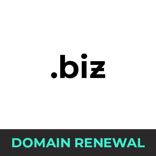 .biz Domain Renewal